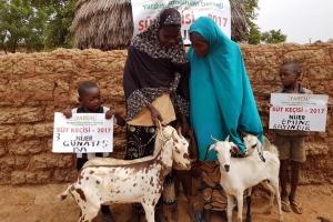 Nijer'de Süt Keçilerimizin Dağıtımı Başladı