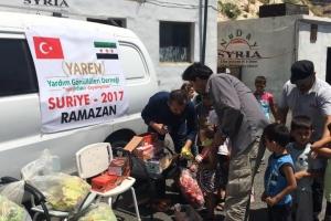 Suriye İçinde Yardımlarımız Devam Ediyor