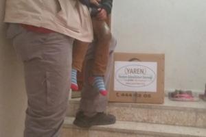 Yayladağ'daki Şehit Türkmen Ailelere Yardımlar Devam Ediyor