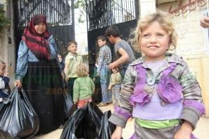Suriye'ye İnsani Yardım Götürmeye Devam Ediyoruz