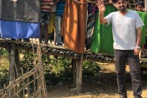 Bugün Arakan kamplarında kurban kesimleri gerçekleştirildi.