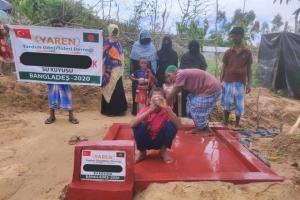 Bangladeş'te 3 tane daha su kuyumuz açılmıştır.