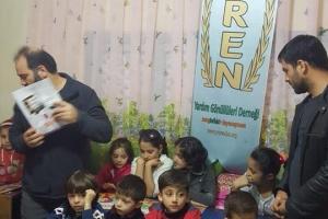 Suriyeli Muhacir Çocuklarımız SİYER ÇOCUK ile Gülümsedi...