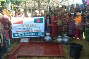 Arakan Kamplarında Su Kuyusu Açmaya Devam Ediyoruz