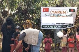 Arakan Kamplarında Çalışmalarımız devam ediyor.