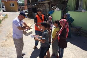 Bayram Öncesi Kumanya Dağıtımı Gerçekleştirildi