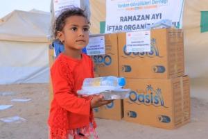 YEMEN' de İftarlık Dağıtımlarımız Gerçekleştirildi