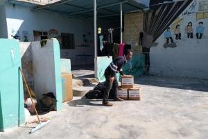 Doğu Guta'dan, İdlib Bölgesine Gelen Aileler İçin, Yardımlar Dağıtılmaya Devam Ediyor