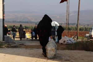 Afrin' de Yardımlarımız Devam Ediyor.