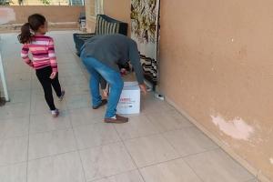 Bölgemizde bulunan ihtiyaç sahibi ailelere, gıda ve kıyafet yardımı yapıldı.