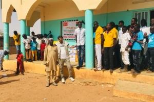 Burkina Faso'da, Burzanga ve De'Jibo da Bulunan Yetimhaneleri Ziyaret Ettik