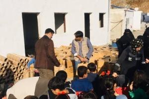 Cısr Yetim Köyü'müzde kış hazırlıkları başladı.