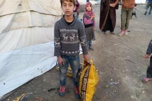 Suriye de Dağıtımlarımız Devam Etmektedir