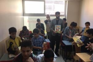 Suriyeli Çocuklar, SİYER ÇOCUK DERGİSİ ile Güldü