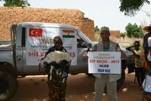 Nijer'de Süt Keçisi Dağıtımı Devam Ediyor