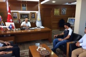 Sivas Belediyesi ve Hayat Ağacı Derneğine İade-i Ziyarette Bulunuldu