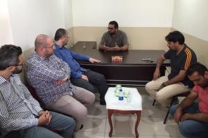 Denizciler'deki Suriye Türkmenleri Okuma Salonu Açıldı