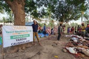 TANZANYA'DA Adak, Akika ve Şükür Kurbanlarımız Kesildi