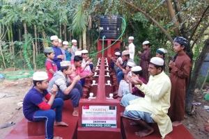 Bangladeş'te 3 Tane Şadırvan ve 2 Tane de Su Kuyusu, Bağışçılarımızın Destekleri ile Hizmete Girmiştir.
