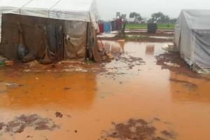 Suriye Sınırındaki Kampları Yine Sel Vurdu