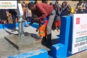 Afrika, Burkina Faso'da Bir Su Kuyusu Daha Açıldı