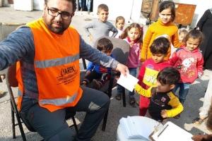 İdlib'in batısındaki Cısr'dayız