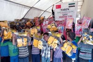 Suriye´de 5 Bin Yetime 5 bin Oyuncak Kampanyası Düzenlendi