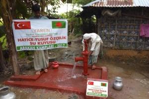 Arakan Kamplarında Su Kuyusu Projemiz Devam Ediyor