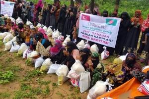 Arakan Kamplarında Gıda ve Nakdi Yardımlarımız Dağıtılmaya Devam Ediyor