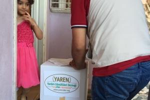 İhtiyaç Sahibi Ailelere Ramazan Öncesi Kumanyalar Dağıtıldı