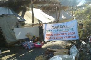Yardımlarımız Türkmen Kardeşlerimize Ulaştı