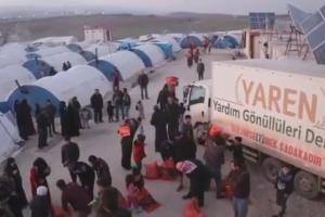 Türkmen Dağındaki Sınır Kamplarımızda Kömür Dağıtımı Gerçekleştirildi