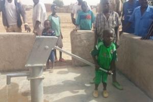 Burkina Faso'da Su Kuyusu Açıldı
