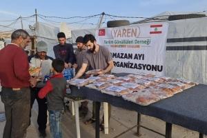 LÜBNAN Kamplarında İftar Organizasyonu Gerçekleştirildi