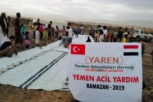 Yemen'de İftar Sevinci