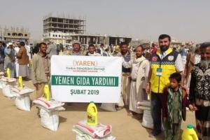 Yardımlarınız ile Yardımlarımız Yemen'e Ulaştı