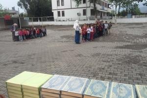 Payas Geçici Eğitim Merkezine Yardım
