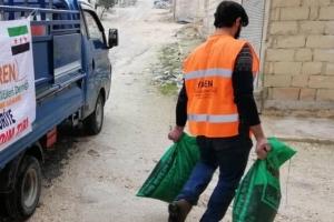 İdlib Kırsalında ve Kamplarda Kömür Dağıtımı Yapılmaya Devam Ediyor...
