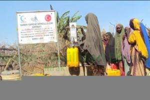 Somali'de Su Kuyusu Açıldı