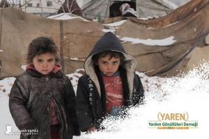 İdlip'li mazlum kardeşimiz için çadır, kıyafet, un ve gıda yardımı yapılacaktır.