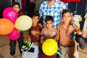 Afrin' deki Hayır Mağazamız, Muhammed Emin Yıldırım Hocamızın Duaları ile Açıldı.
