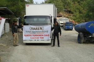 Suriye Türkmen Bölgesine Yardımlar Devam Ediyor