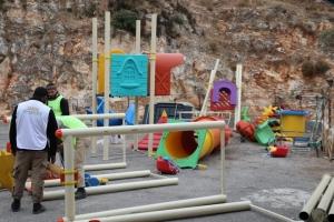 CISR Yetim Köyümüz'de hayırseverlerimiz yetim yavrularımız için park yaptırdılar.