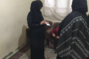 Kadın Kollarından Yetim Ailelere Ziyaret