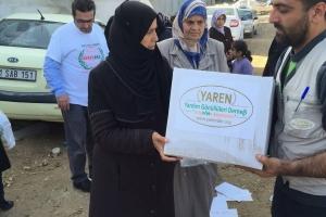 Türkmen Dağına Yardımlar Devam Ediyor