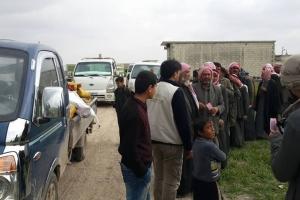 İdlib ve Çevresinde Soba ve Kömür Dağıtımı Yapıldı.