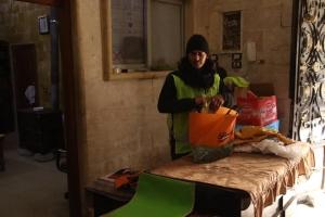 İdlib Lojistik Depomuzda Dağıtımlarımız Devam Ediyor