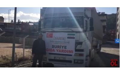Yarender Suriye yardımları devam ediyor 11 Oca 2017