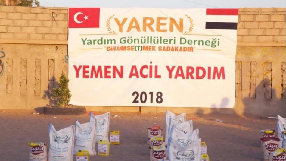Yardım ve Desteklerinizle Bir Kez Daha Yemen'e Yardımlarımız Ulaştı