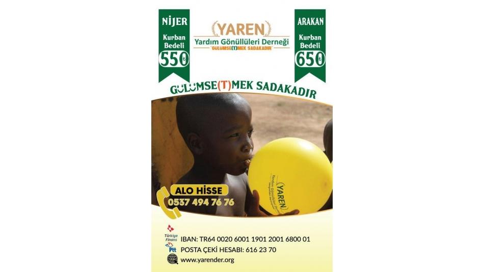Nijer ve Arakan Kamplarındaki Kurban organizasyonu için yola revan olduk